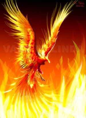 در آتش تو زاده شد ققنوس شعر من